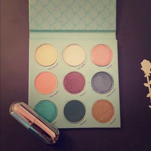 Winky Lux Mermaid Pallet and Rainbow Confetti Balm